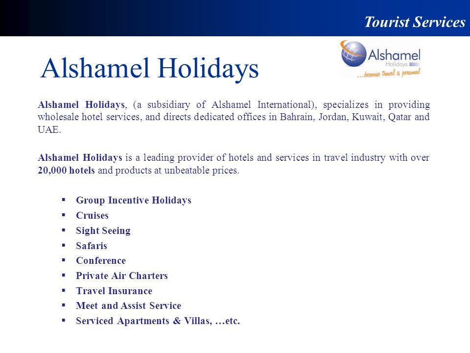 Alshamel Holidays Tourist Services
