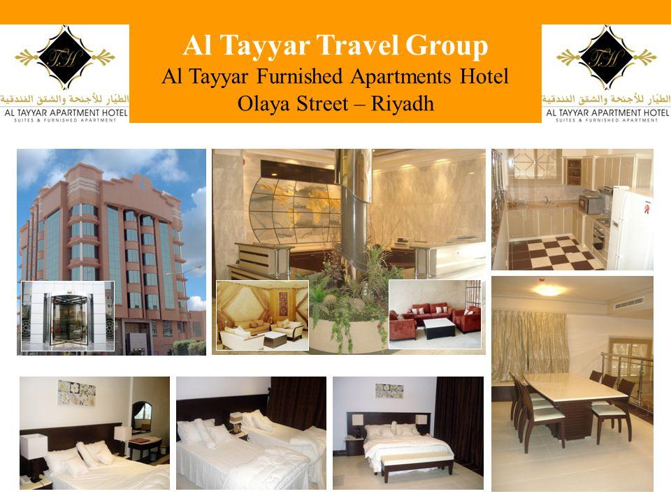 Al Tayyar Travel Group Al Tayyar Furnished Apartments Hotel Olaya Street – Riyadh