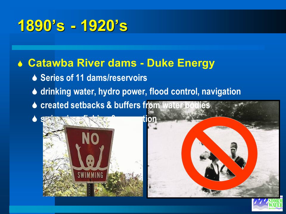 1890's - 1920's Catawba River dams - Duke Energy