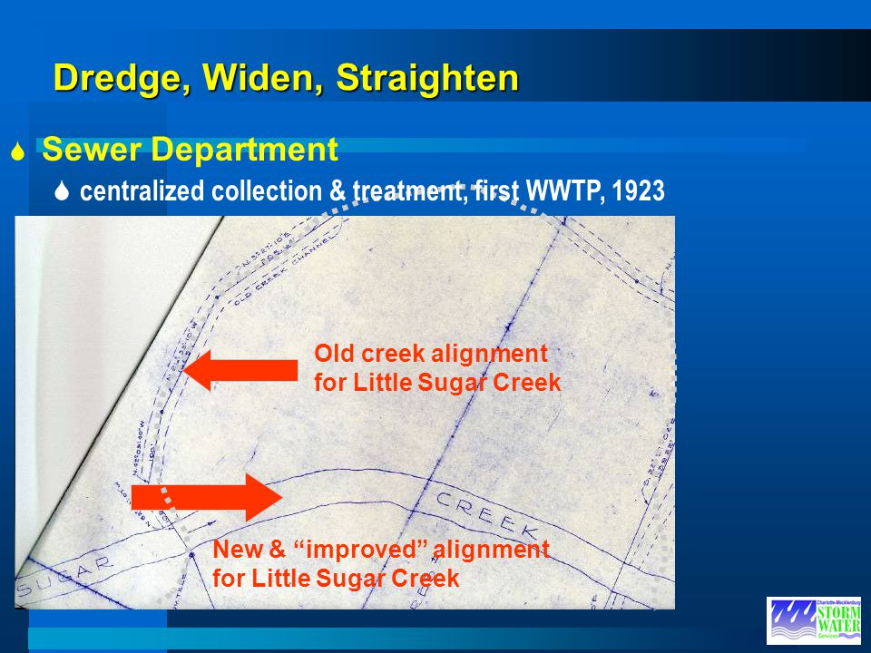 Dredge, Widen, Straighten
