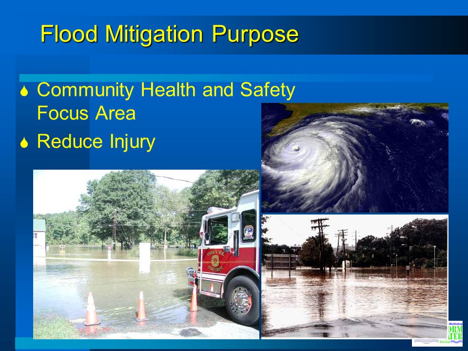 Flood Mitigation Purpose