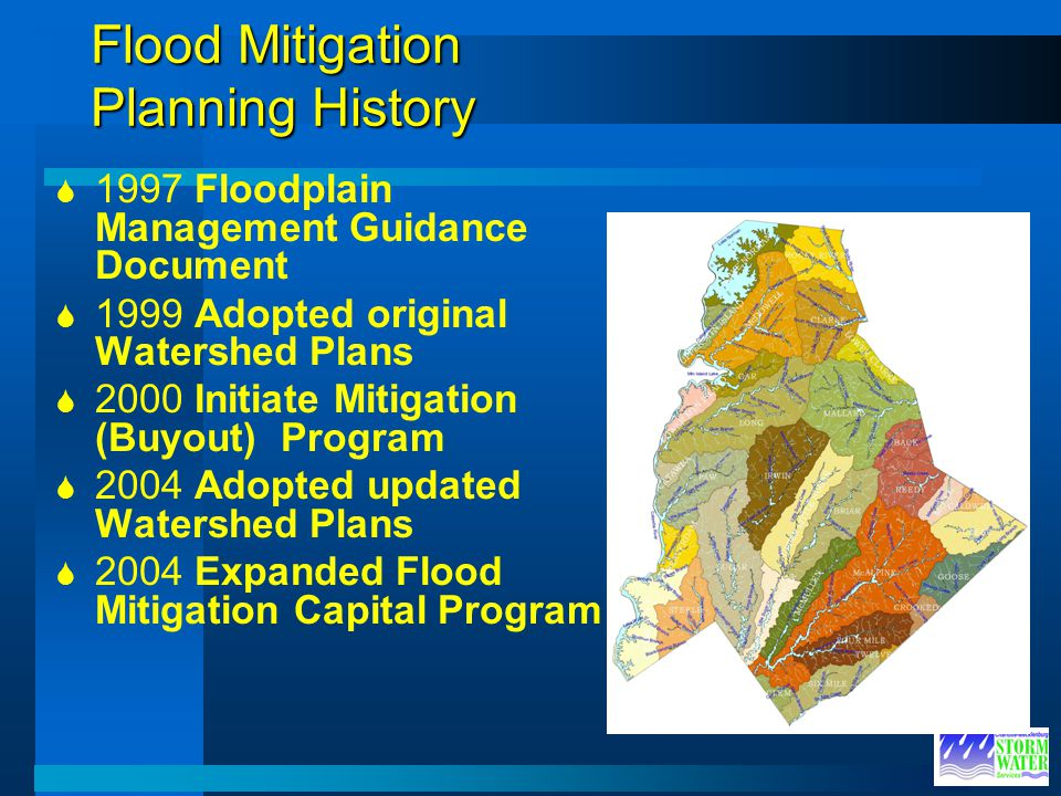 Flood Mitigation Planning History