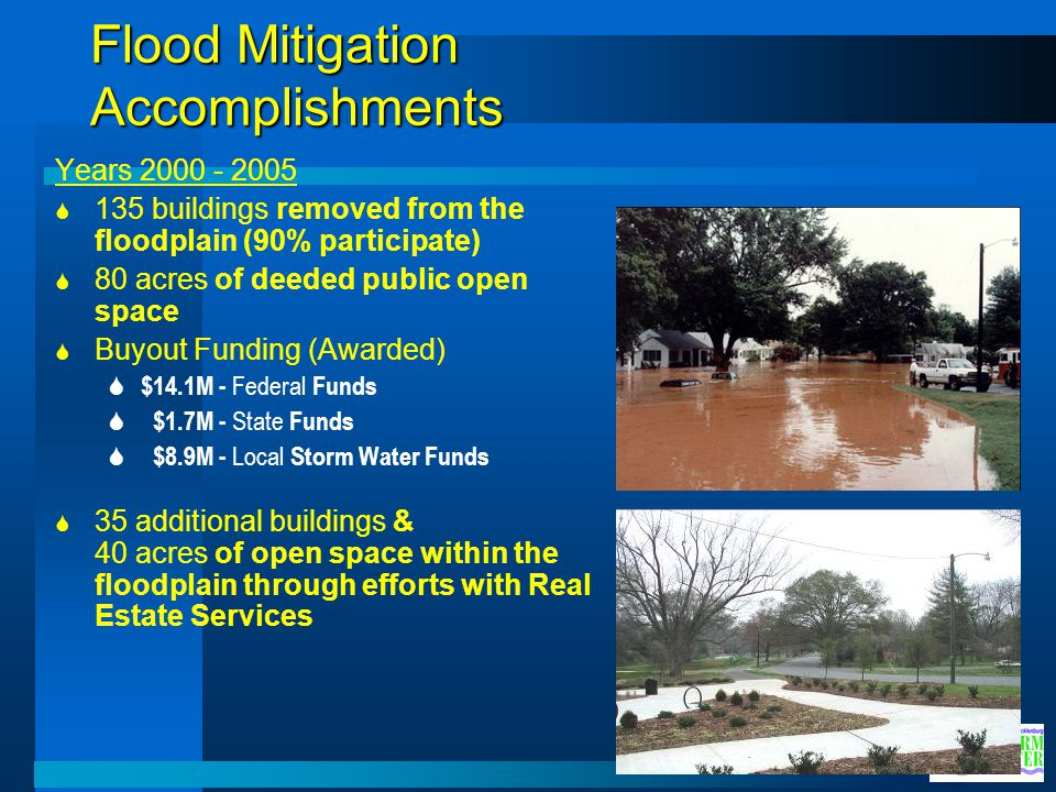 Flood Mitigation Accomplishments