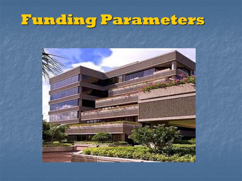 Funding Parameters