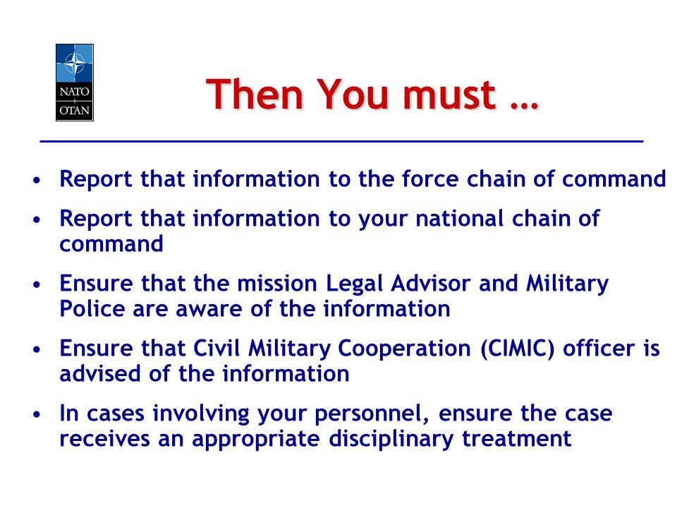 NATO Module for Military Commanders