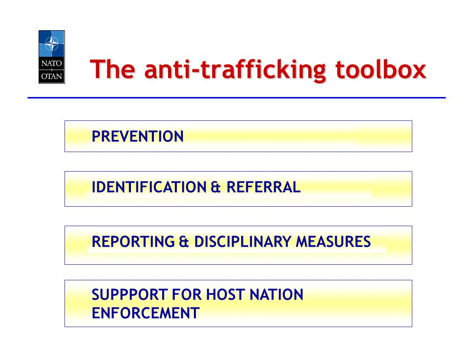 The anti-trafficking toolbox