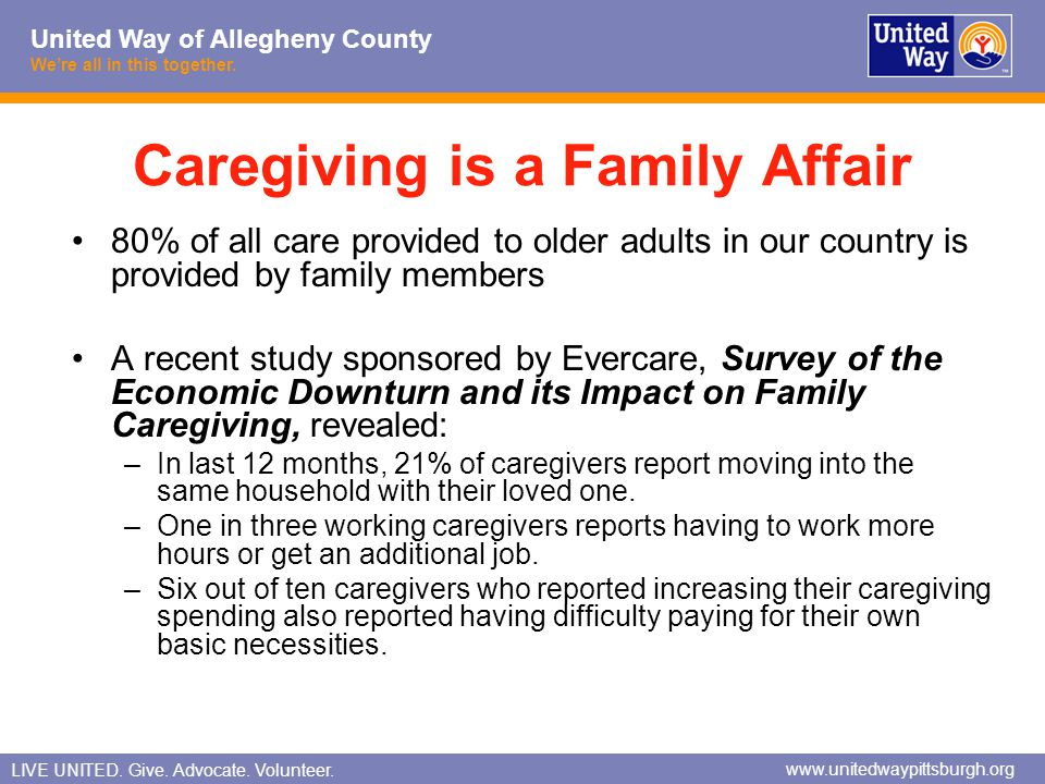 Caregiving is a Family Affair