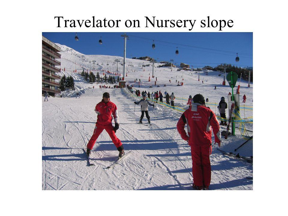 Travelator on Nursery slope