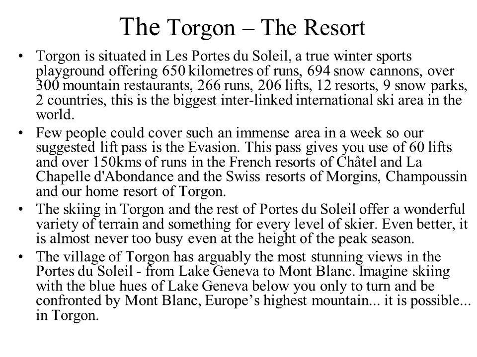 The Torgon – The Resort