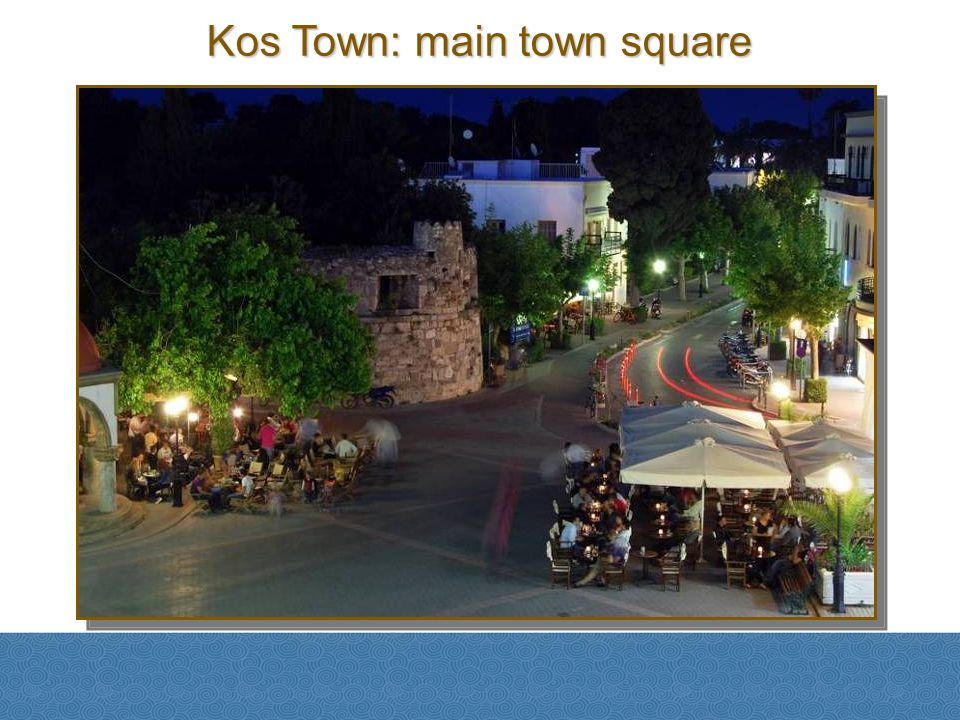 Kos Town: main town square