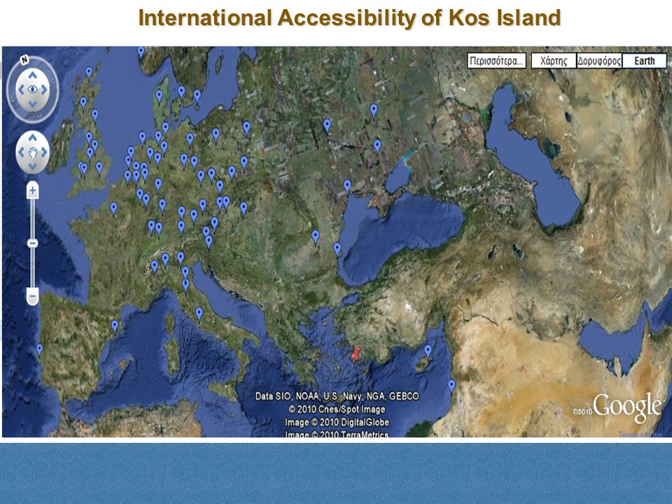 International Accessibility of Kos Island