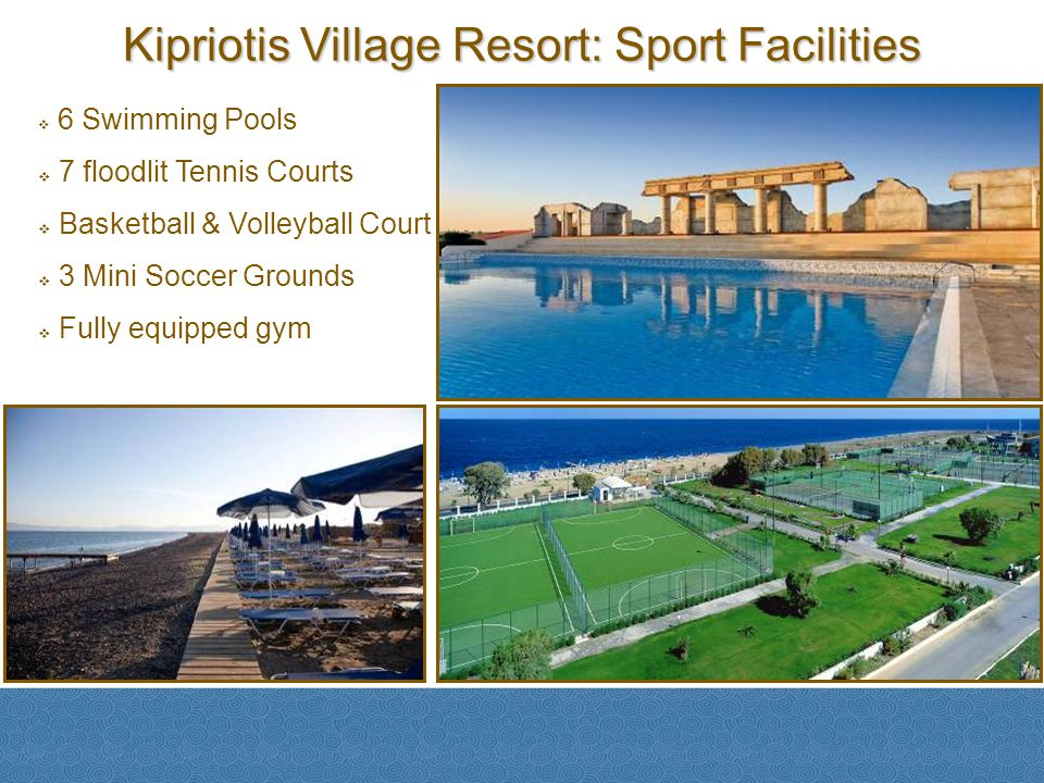 Kipriotis Village Resort: Sport Facilities