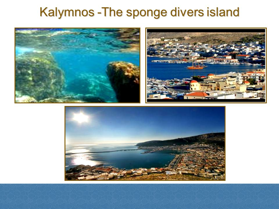 Kalymnos -The sponge divers island