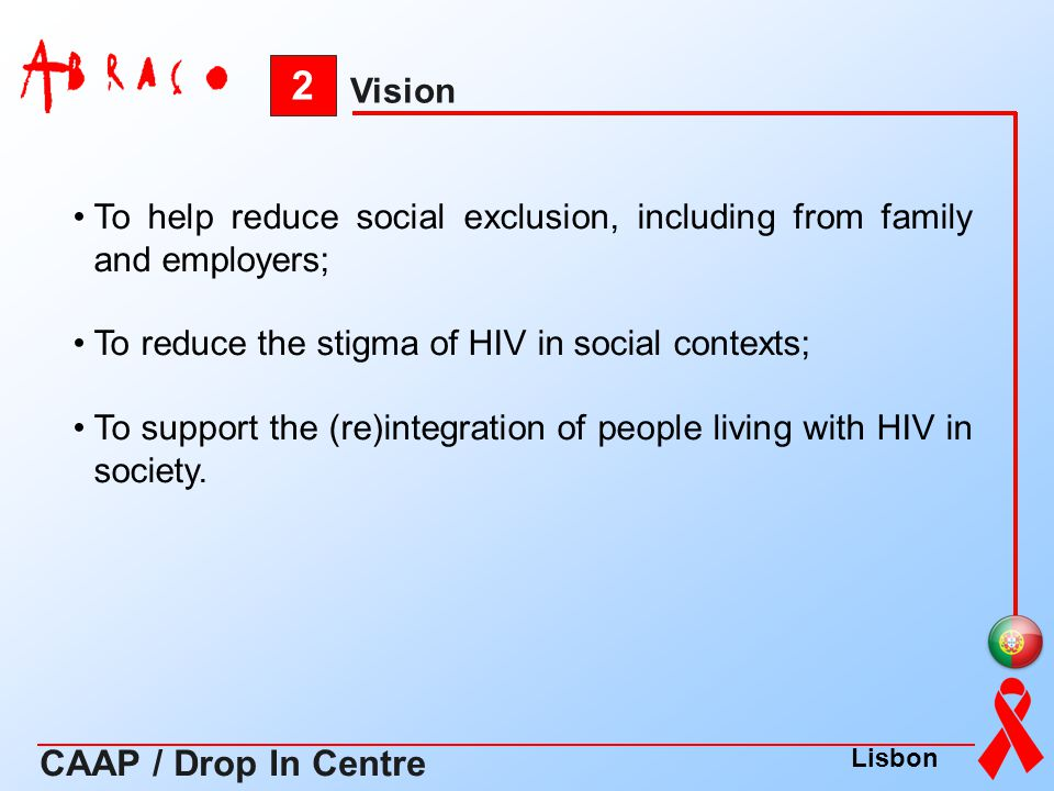 2 CAAP / Drop In Centre Vision