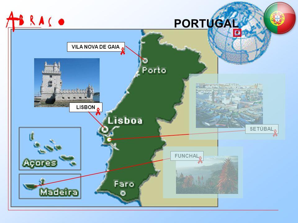 PORTUGAL VILA NOVA DE GAIA LISBON SETÚBAL FUNCHAL