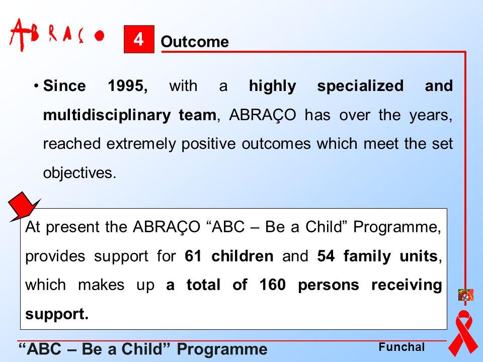 4 ABC – Be a Child Programme Outcome