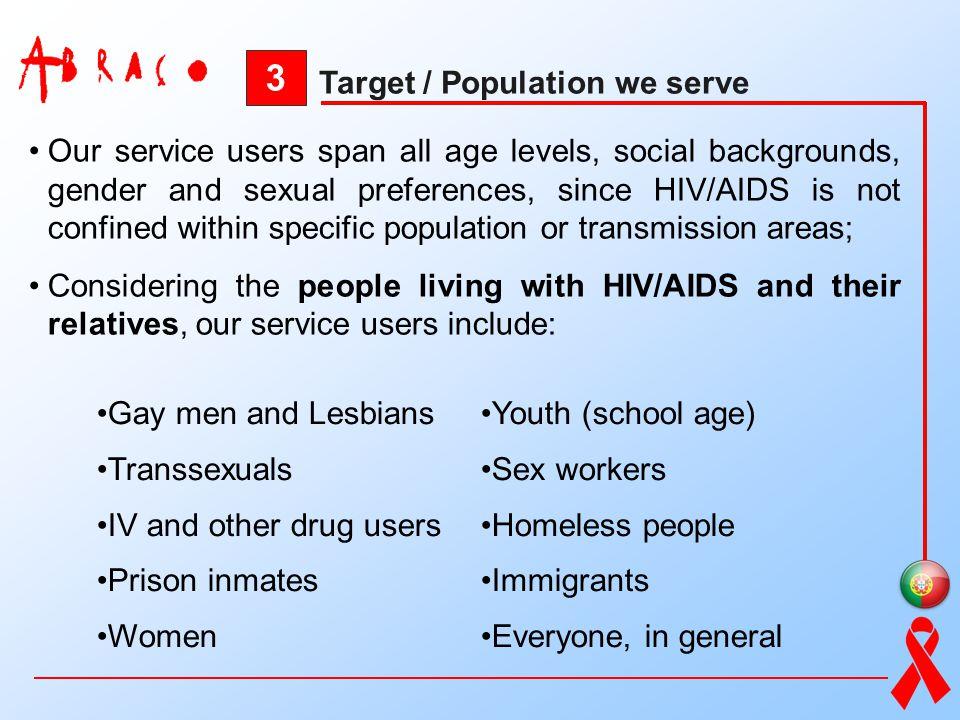 3 Target / Population we serve