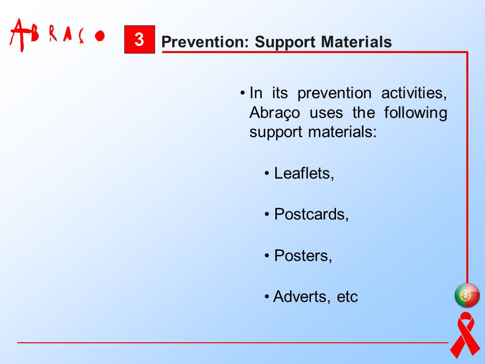 3 Prevention: Support Materials