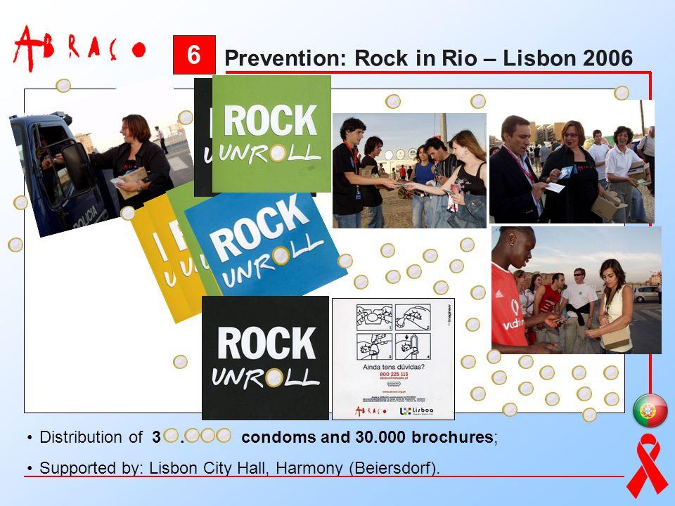6 Prevention: Rock in Rio – Lisbon 2006
