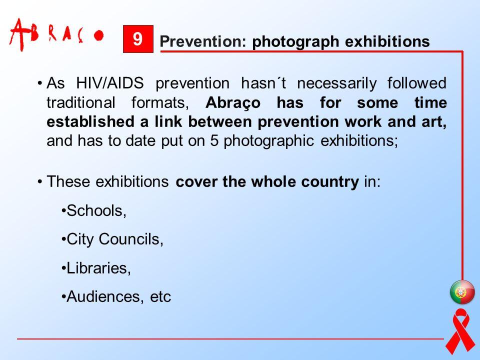 9 Prevention: photograph exhibitions