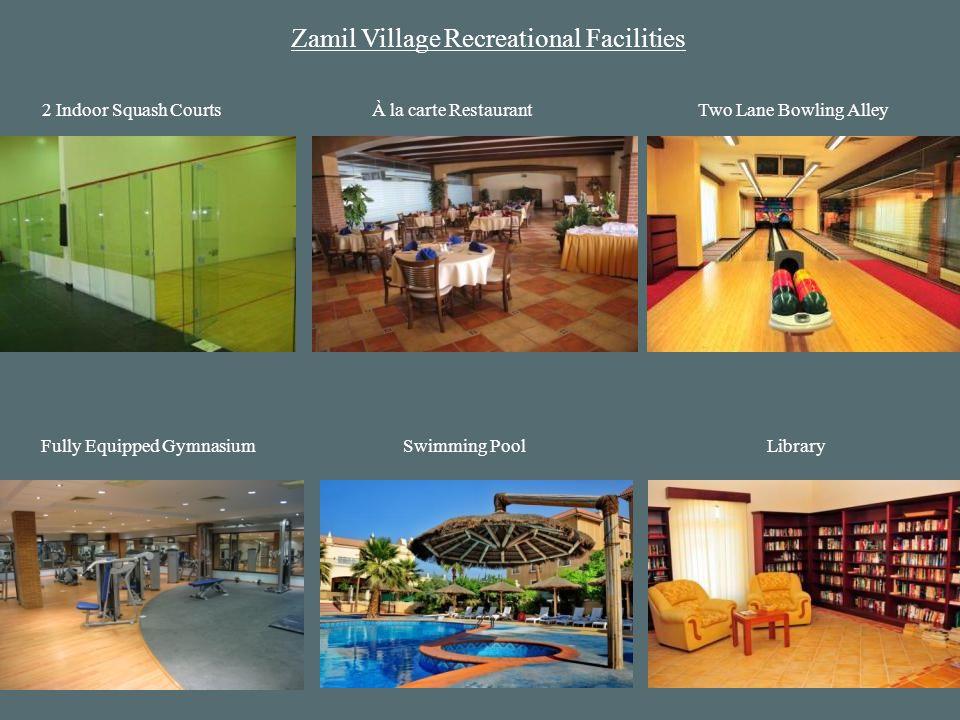 Zamil Village Recreational Facilities