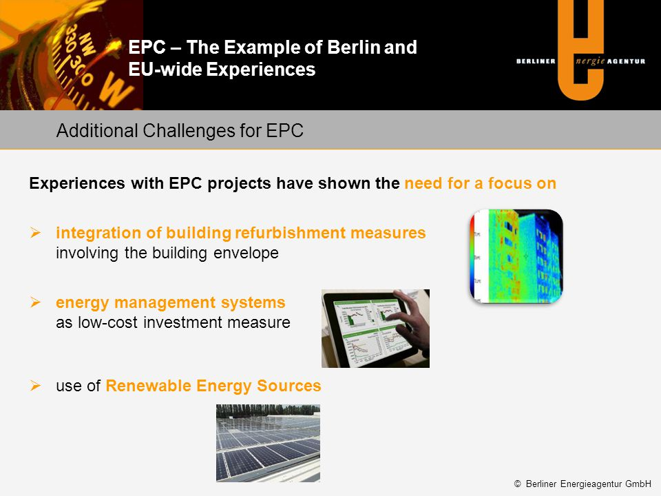 Additional Challenges for EPC