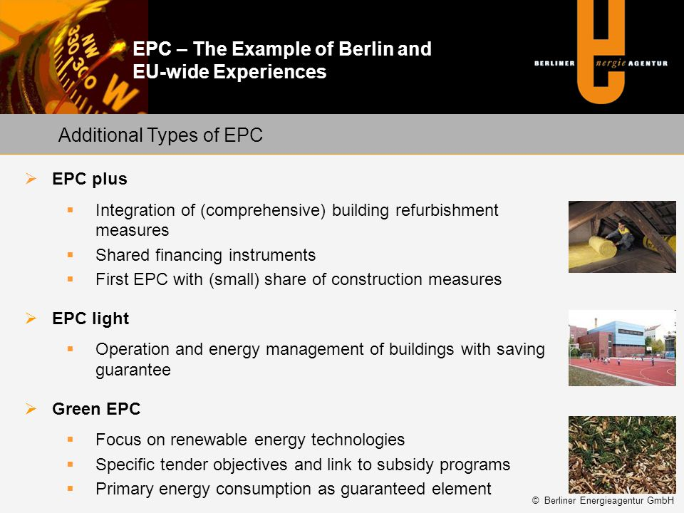Additional Types of EPC