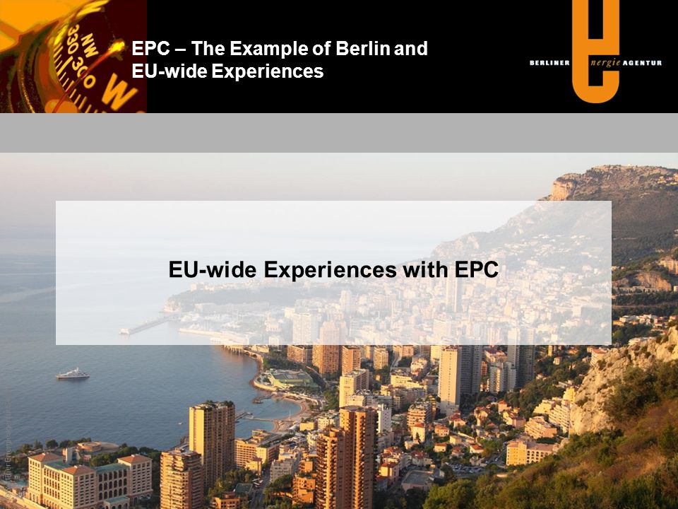 EU-wide Experiences with EPC