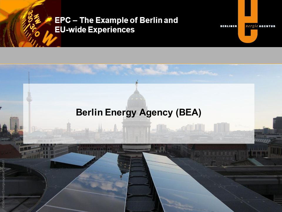 Berlin Energy Agency (BEA)