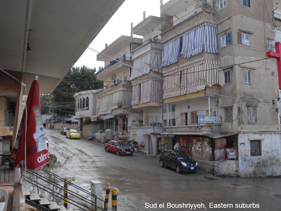 Sud el Boushriyyeh, Eastern suburbs