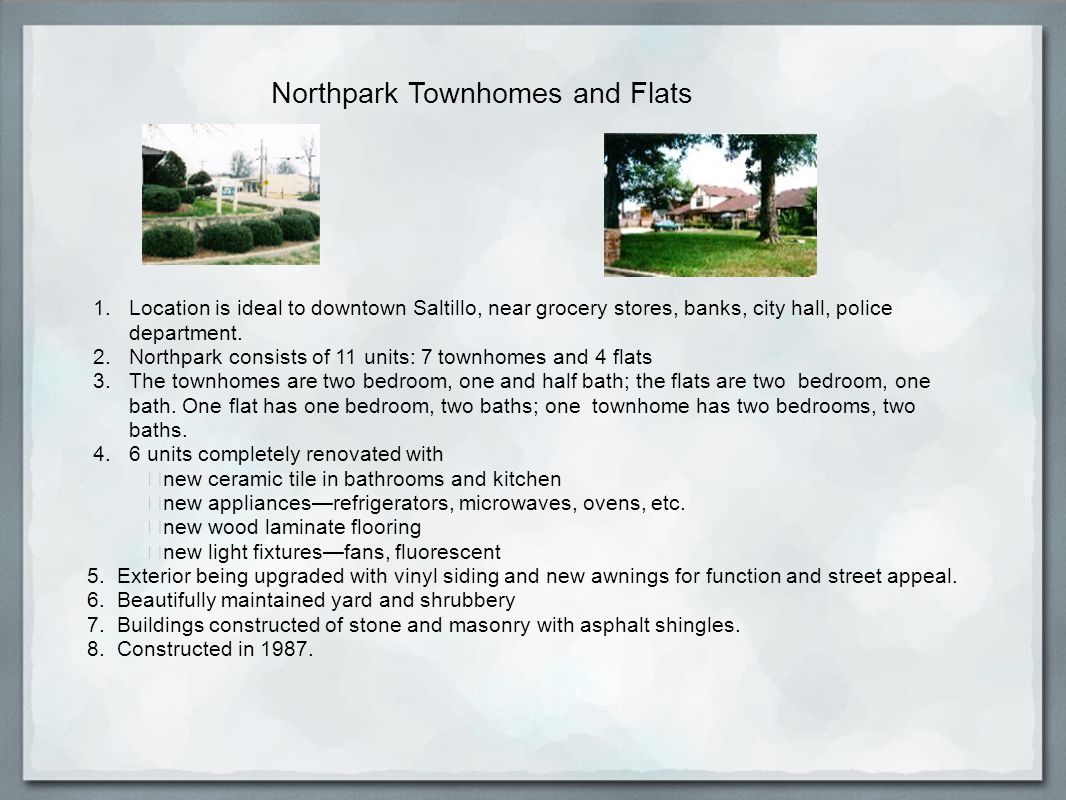 Northpark Townhomes and Flats