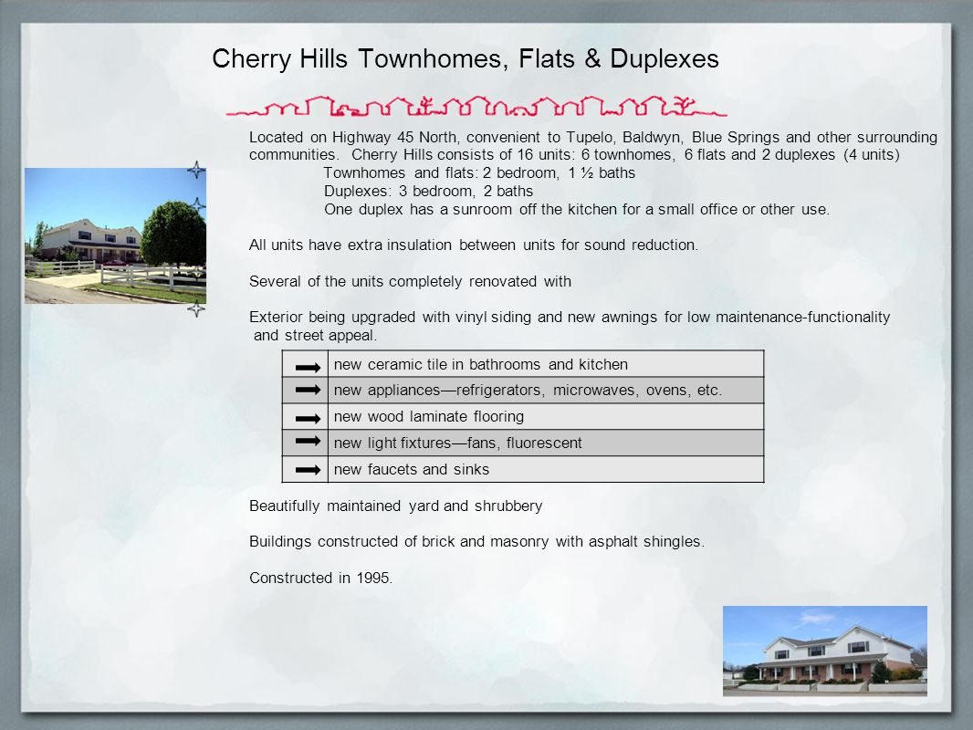 Cherry Hills Townhomes, Flats & Duplexes