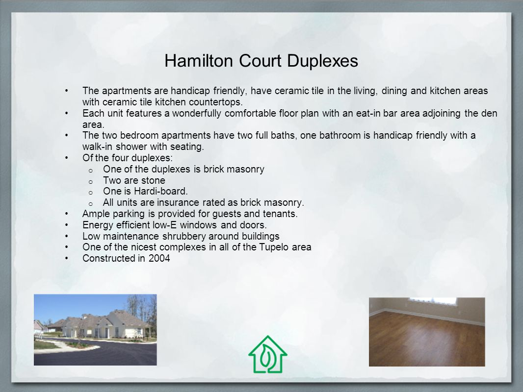 Hamilton Court Duplexes