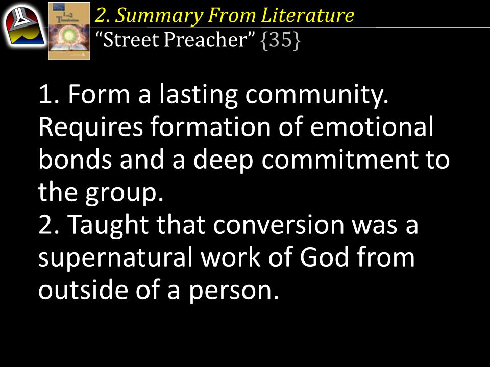 2. Summary From Literature