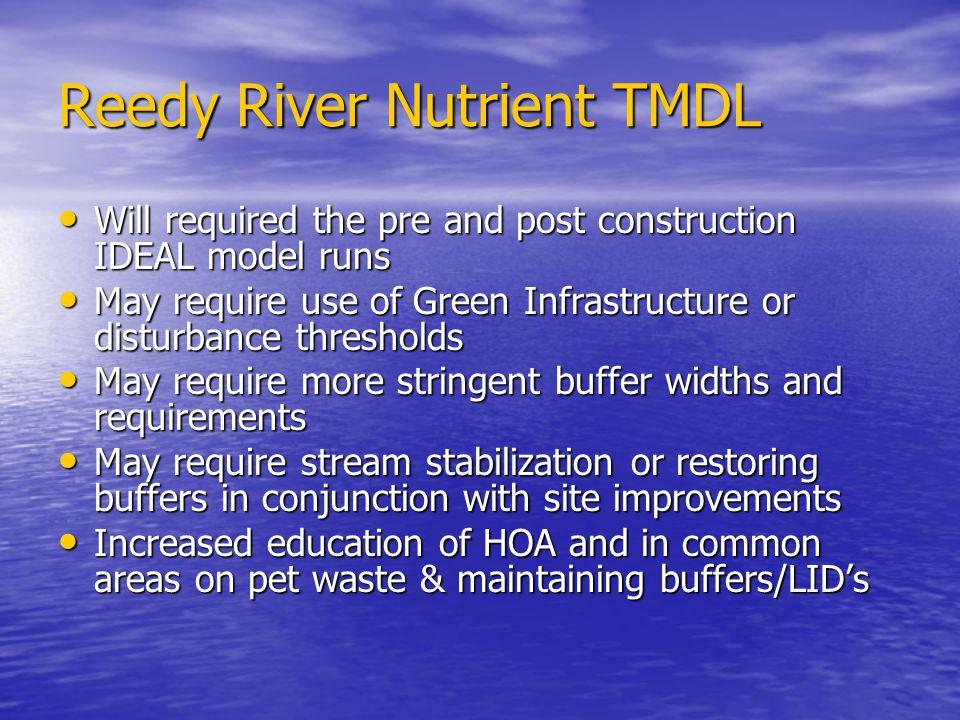 Reedy River Nutrient TMDL