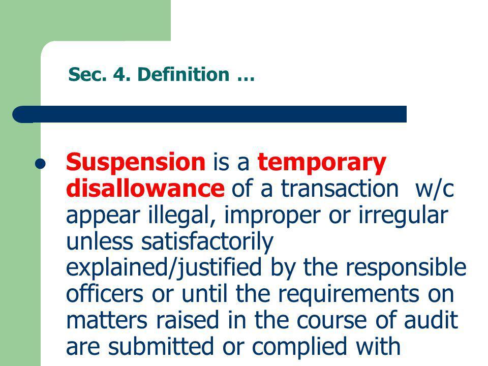 Sec. 4. Definition …