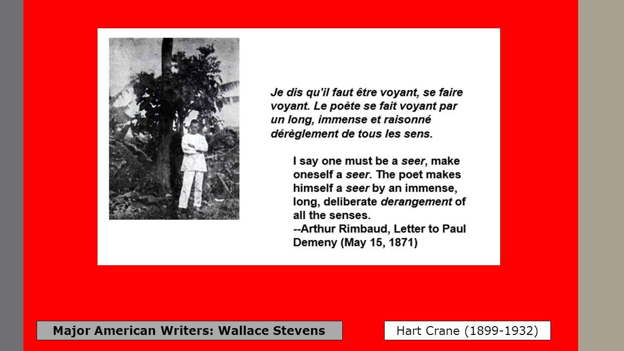 Major American Writers: Wallace Stevens