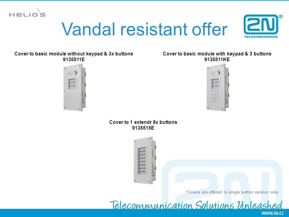 Vandal resistant offer