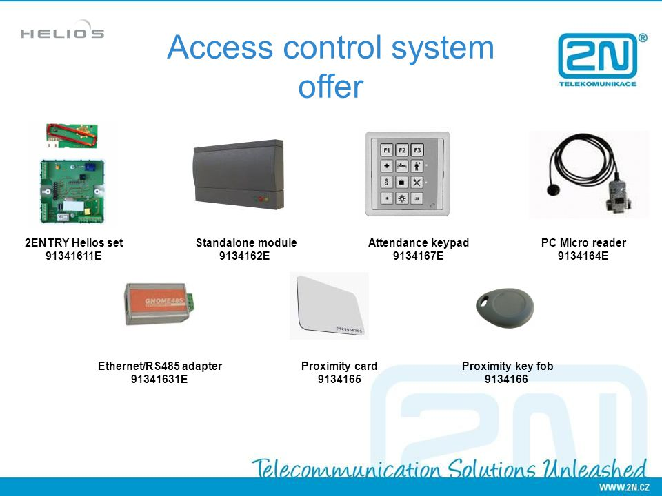 Access control system offer