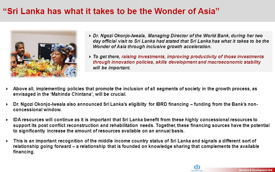 Sri Lanka has what it takes to be the Wonder of Asia