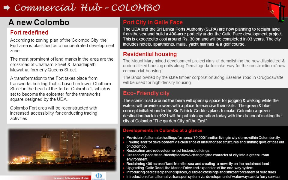 Commercial Hub – COLOMBO