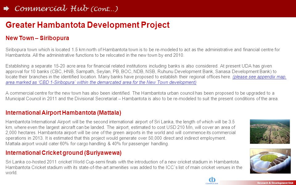 Greater Hambantota Development Project