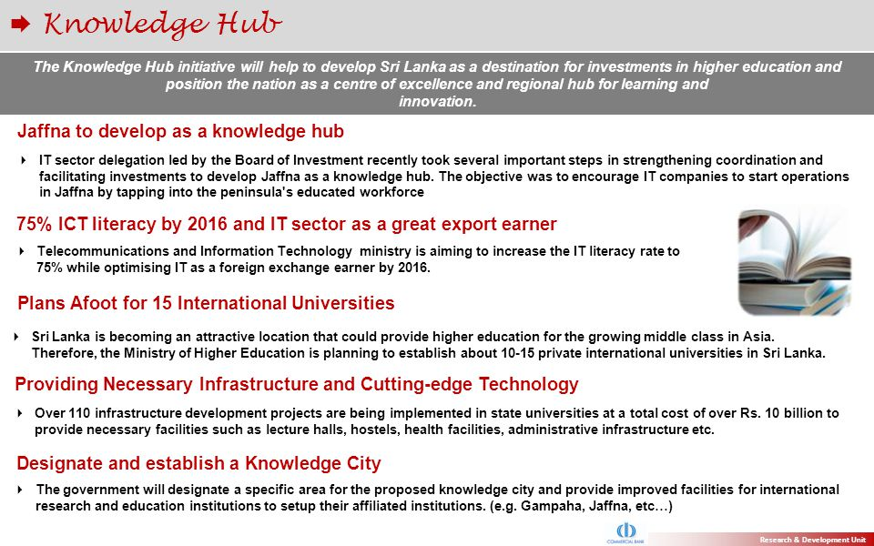 Knowledge Hub Jaffna to develop as a knowledge hub