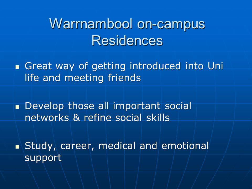 Warrnambool on-campus Residences