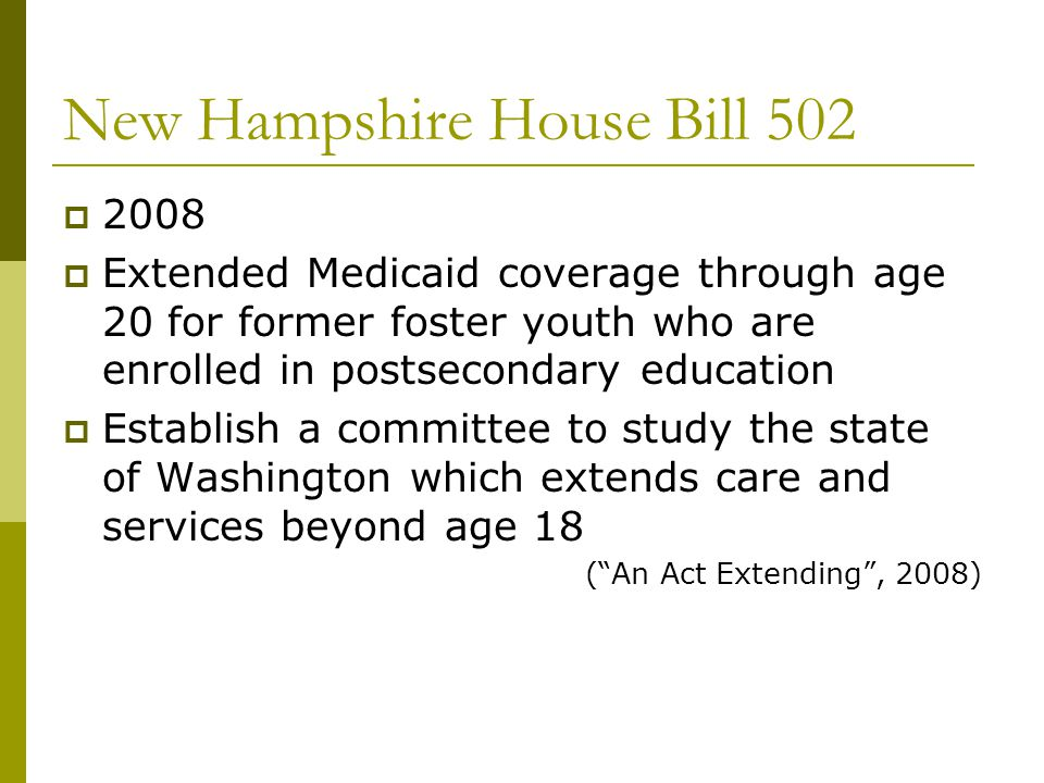 New Hampshire House Bill 502