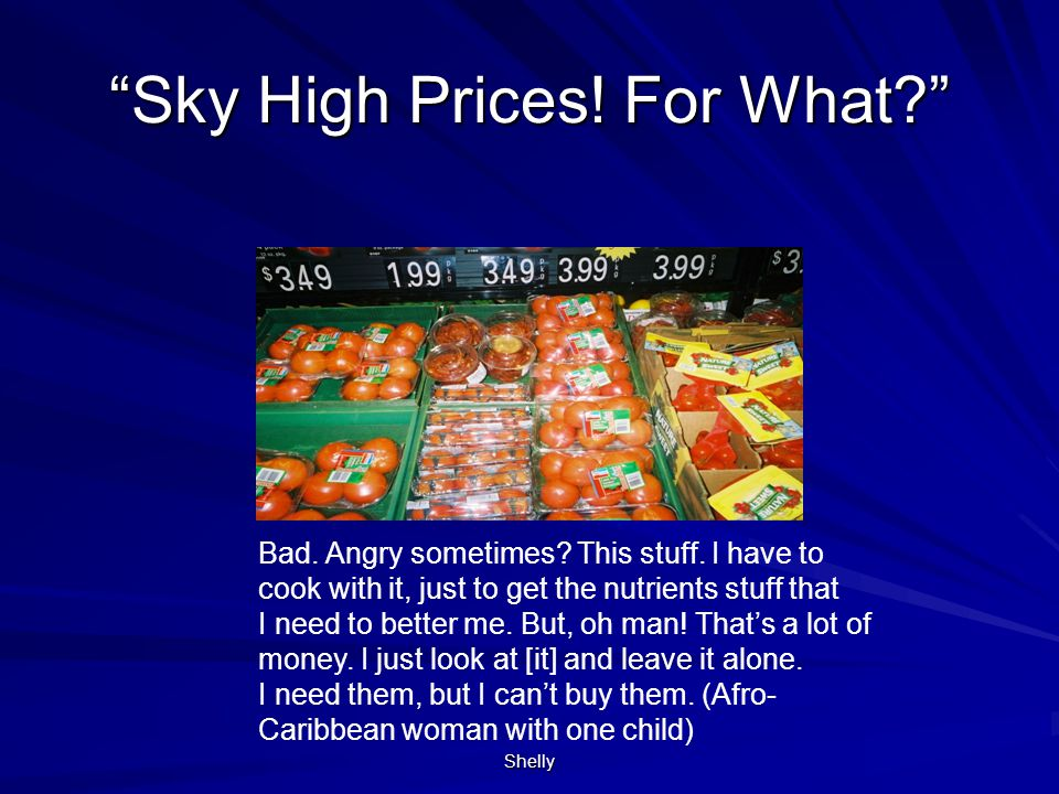 Sky High Prices! For What