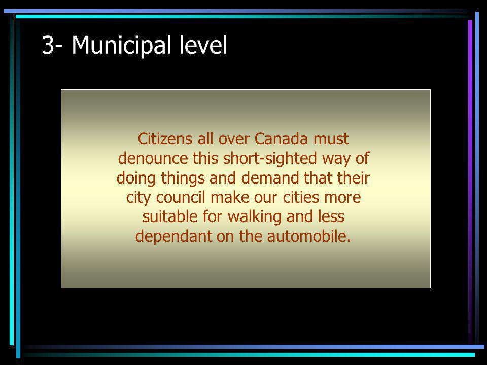 3- Municipal level