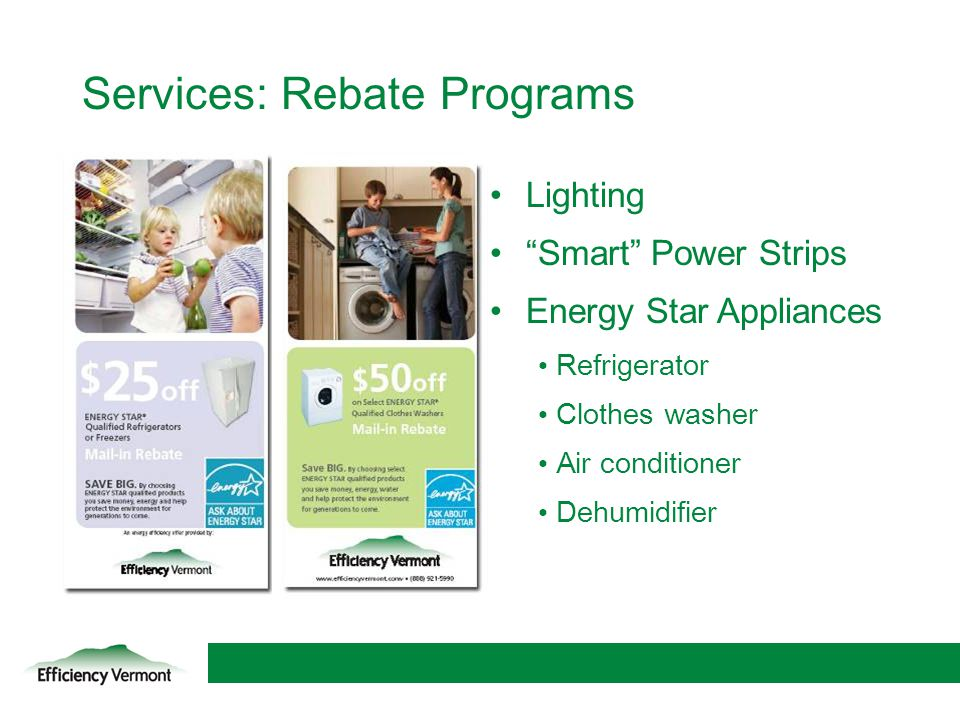 Services: Rebate Programs