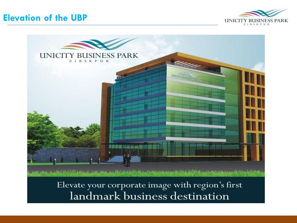 Elevation of the UBP