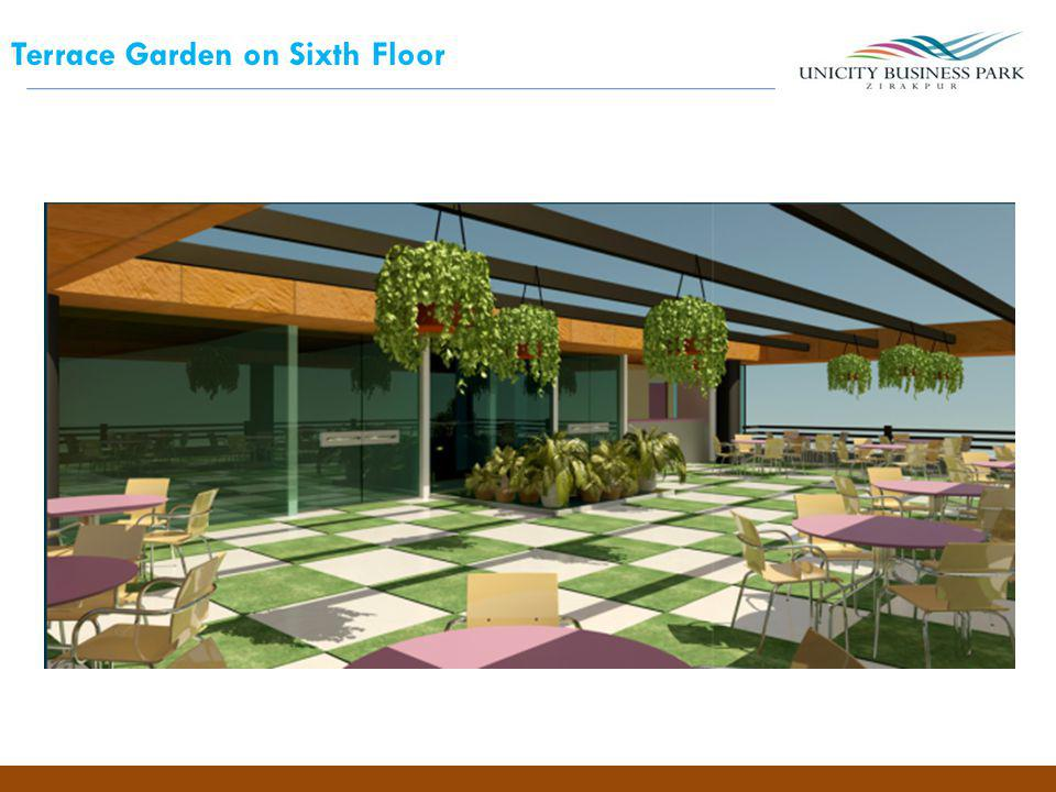 Terrace Garden on Sixth Floor
